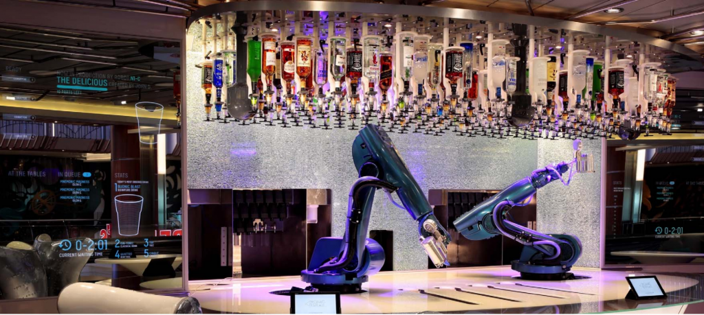 Symphony of the Seas Ultimate Abyss Bionic Bar