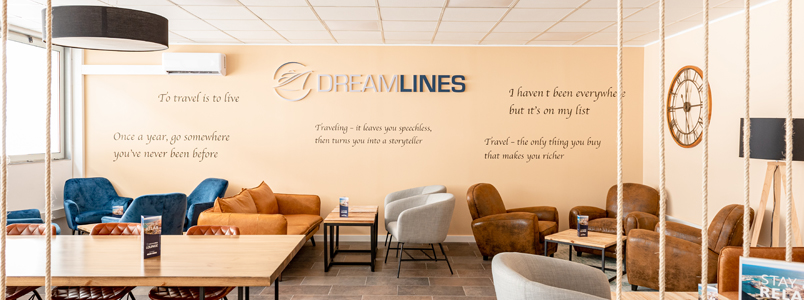 Dreamlines lounge area relax