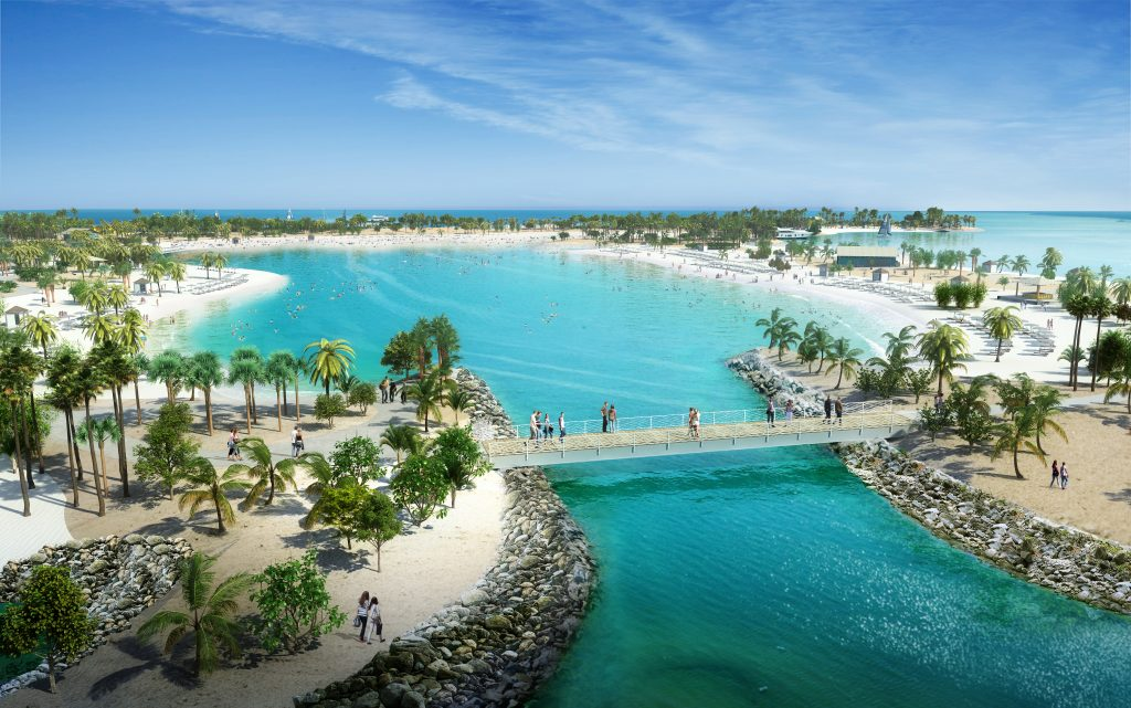 Ocean-Cay-MSC-Marine-Reserve-features-a-Great-Lagoon-for-swimming-and-water-sports