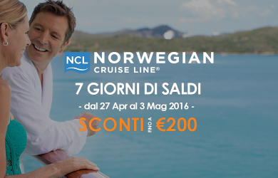 Saldi Norwegian Cruise Line