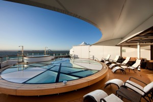 Spa Terrace - Deck 10 Aft Seabourn Odyssey - Seabourn Cruise Line